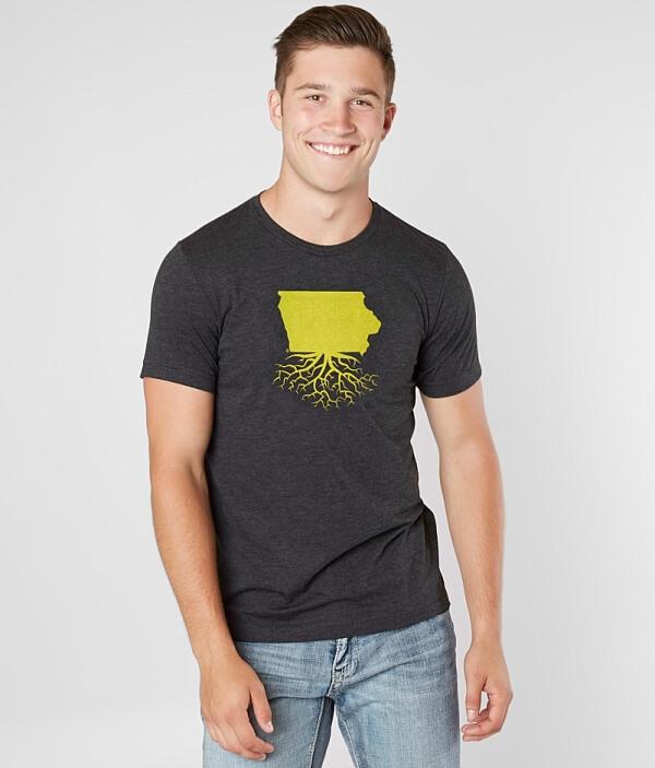 WYR Iowa Roots Roots T WYR T Iowa Shirt 4qx5w5ZEz