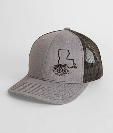 a0703411 WYR Louisiana Roots Trucker Hat
