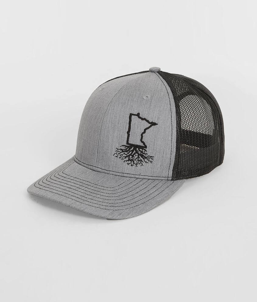 c46b68949b5 WYR Minnesota Roots Trucker Hat - Men s Hats in Heather Black