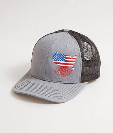 WYR USA Roots Trucker Hat