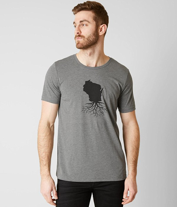 Roots Wisconsin T WYR T Roots WYR Shirt WYR Wisconsin Shirt AvS47Pn7