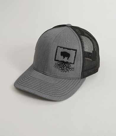 WYR Wyoming Roots Trucker Hat