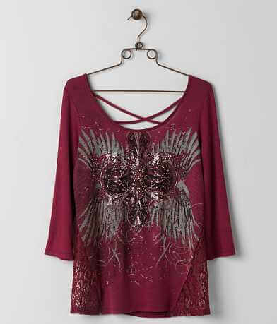 Angels & Diamonds Rhinestone Top