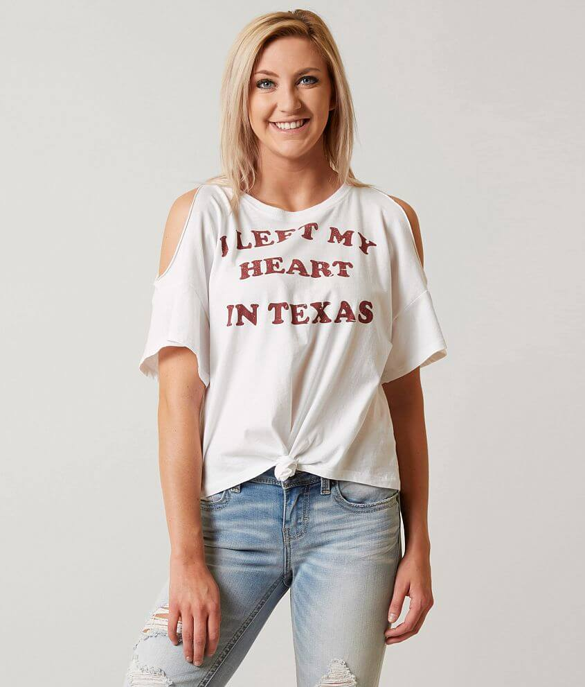 I.O.C. Left My Heart In Texas T-Shirt front view