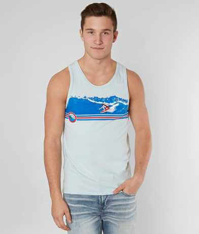 Ocean Pacific Midstripe Surfer Tank Top
