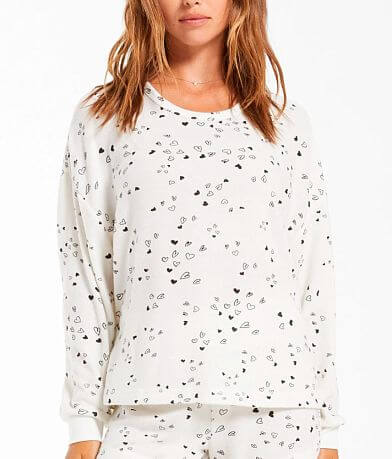 Z Lounge Bridget Heart Pullover