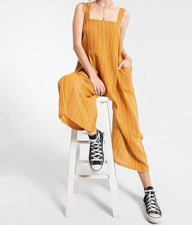 Others Follow Bahama Cropped Jumpsuit
