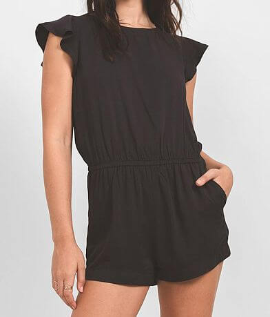 Others Follow Evie Woven Romper