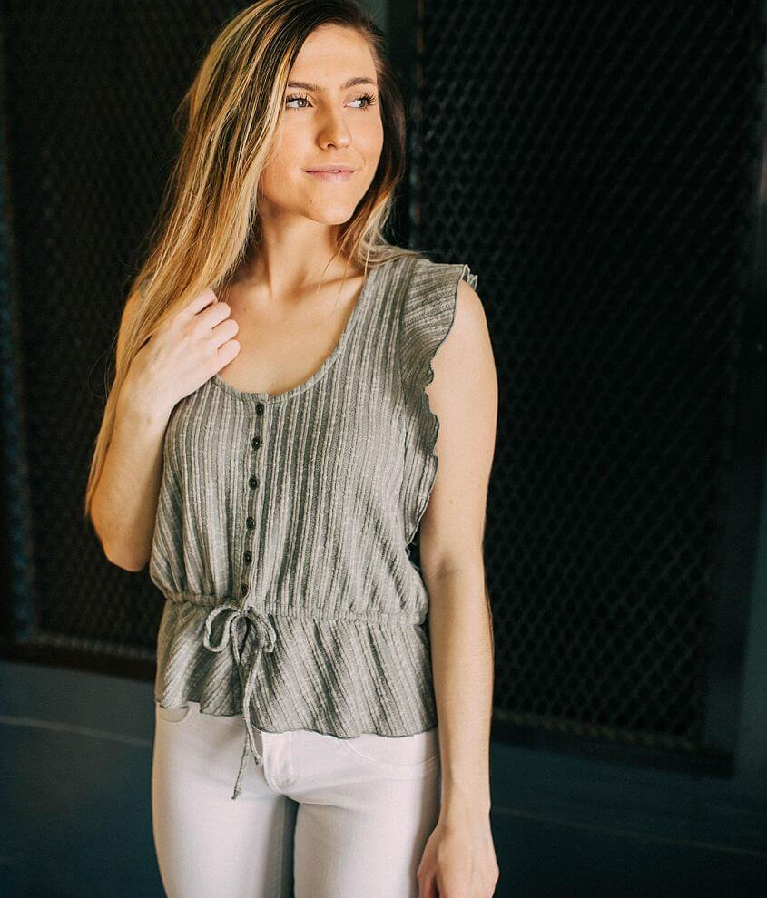 White Crow Sophie Sweater Knit Top front view