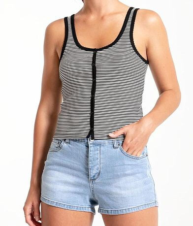 Others Follow Nineties Striped Tank Top