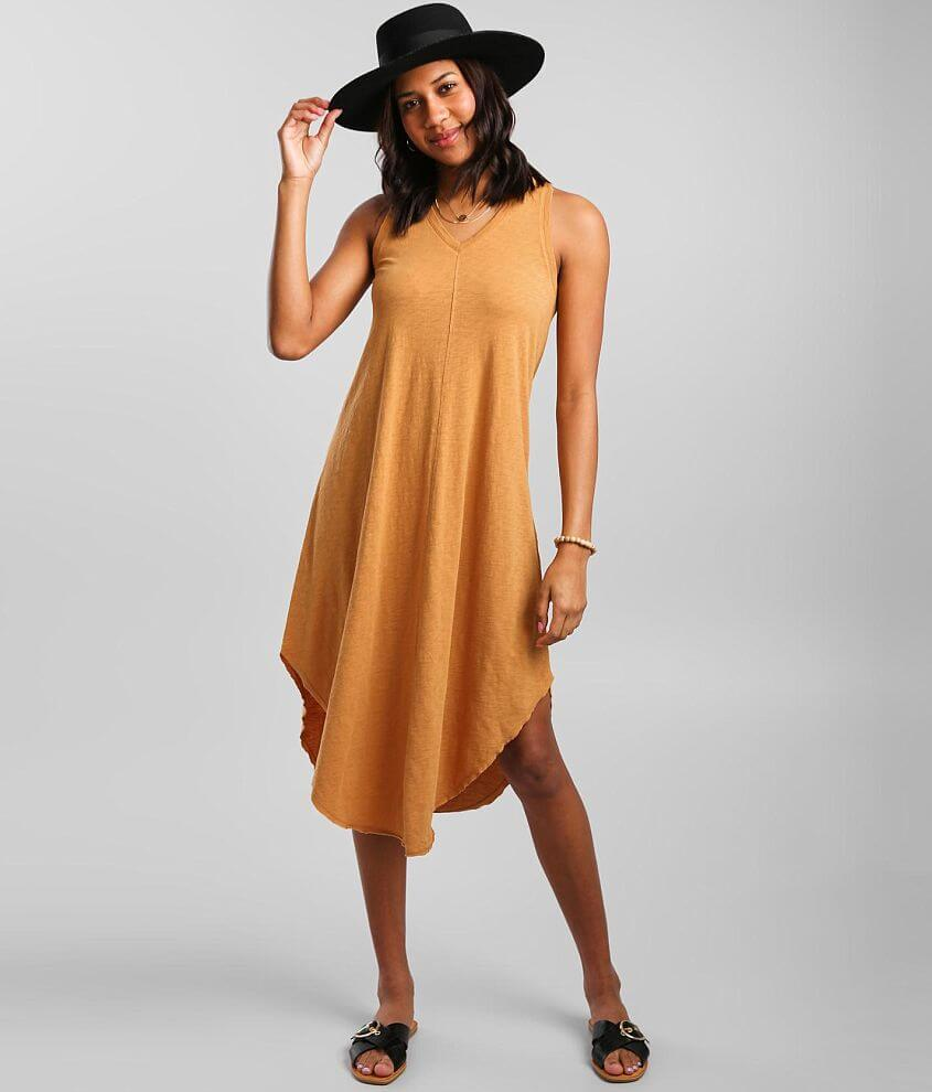 Z Supply The Reverie Midi Dress front view