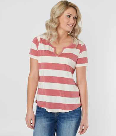 White Crow Striped T-Shirt