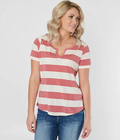 White Crow Striped T-Shirt