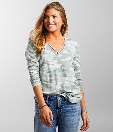 Z Supply Camo Crossroad T-Shirt