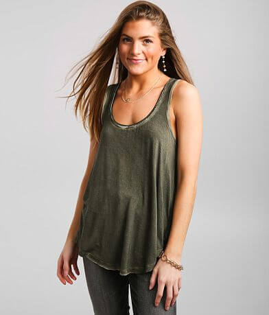 White Crow Washed Tank Top