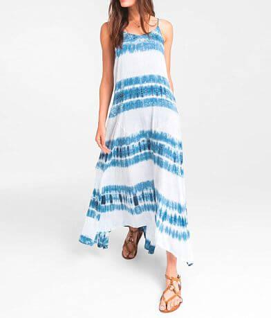 Rag Poets Pura Tie Dye Maxi Dress