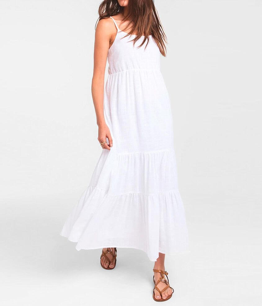 Rag Poets Sanur Tiered Dress front view