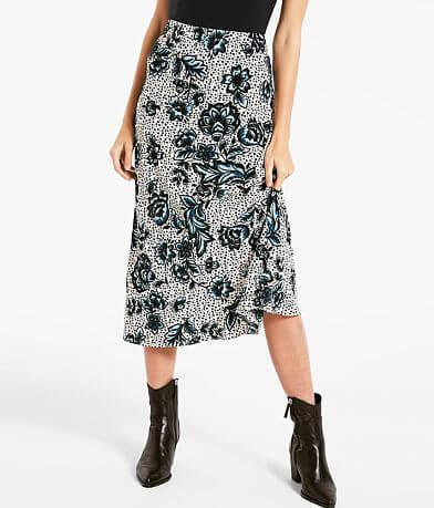 Rag Poets Lindsey Floral Maxi Skirt