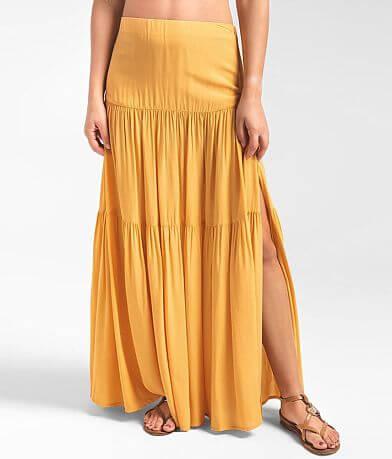 Rag Poets Lacuciola Tiered Ruffle Skirt