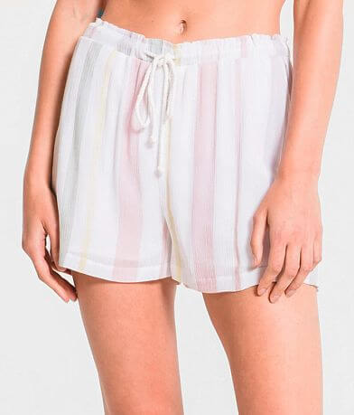 Rag Poets Siena Pastel Striped Short