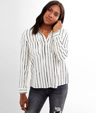 Rag Poets Livorno Striped Shirt