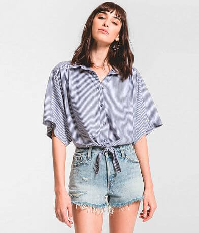 Rag Poets Milano Cropped Blouse
