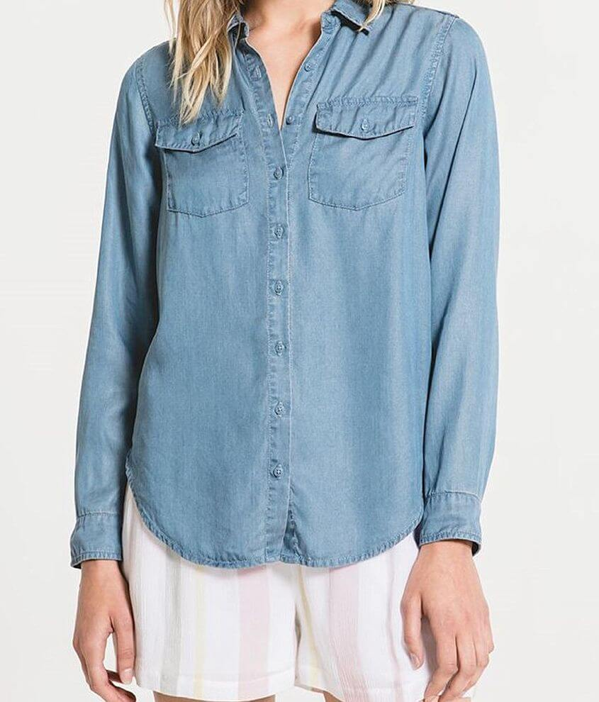 Rag Poets La Canzone Woven Shirt front view