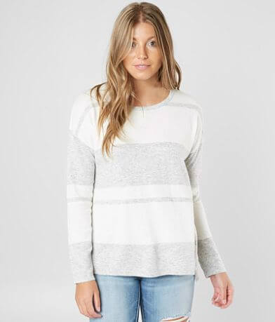 White Crow Genoa Striped Sweater