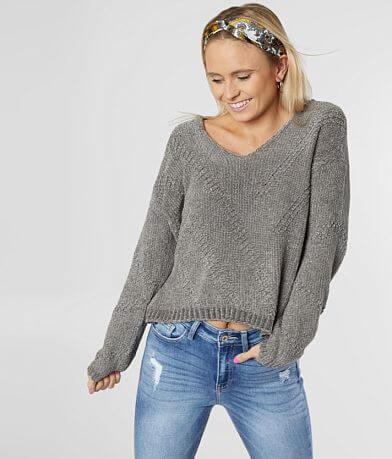 White Crow Bococa Chenille Sweater