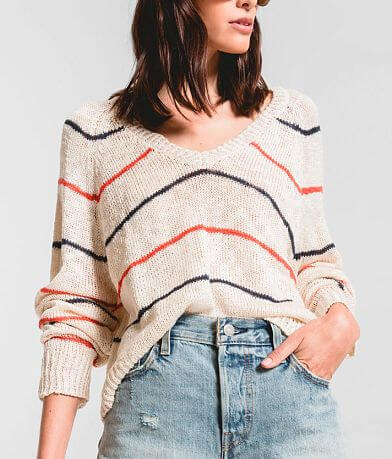 Rag Poets Sicily Striped Sweater