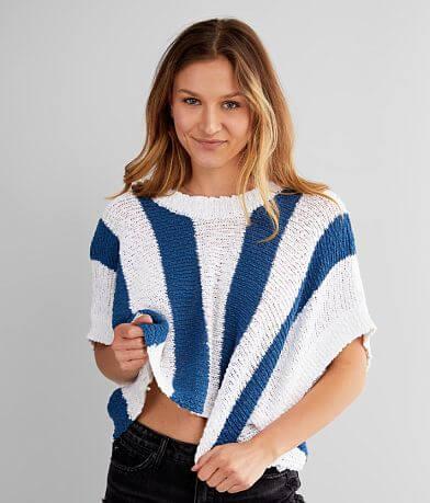 Rag Poets Legian Striped Sweater