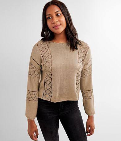 Rag Poets Norhina Crochet Sweater