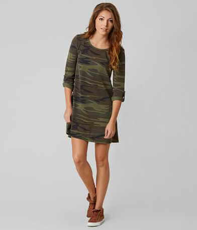 White Crow Camo Dress