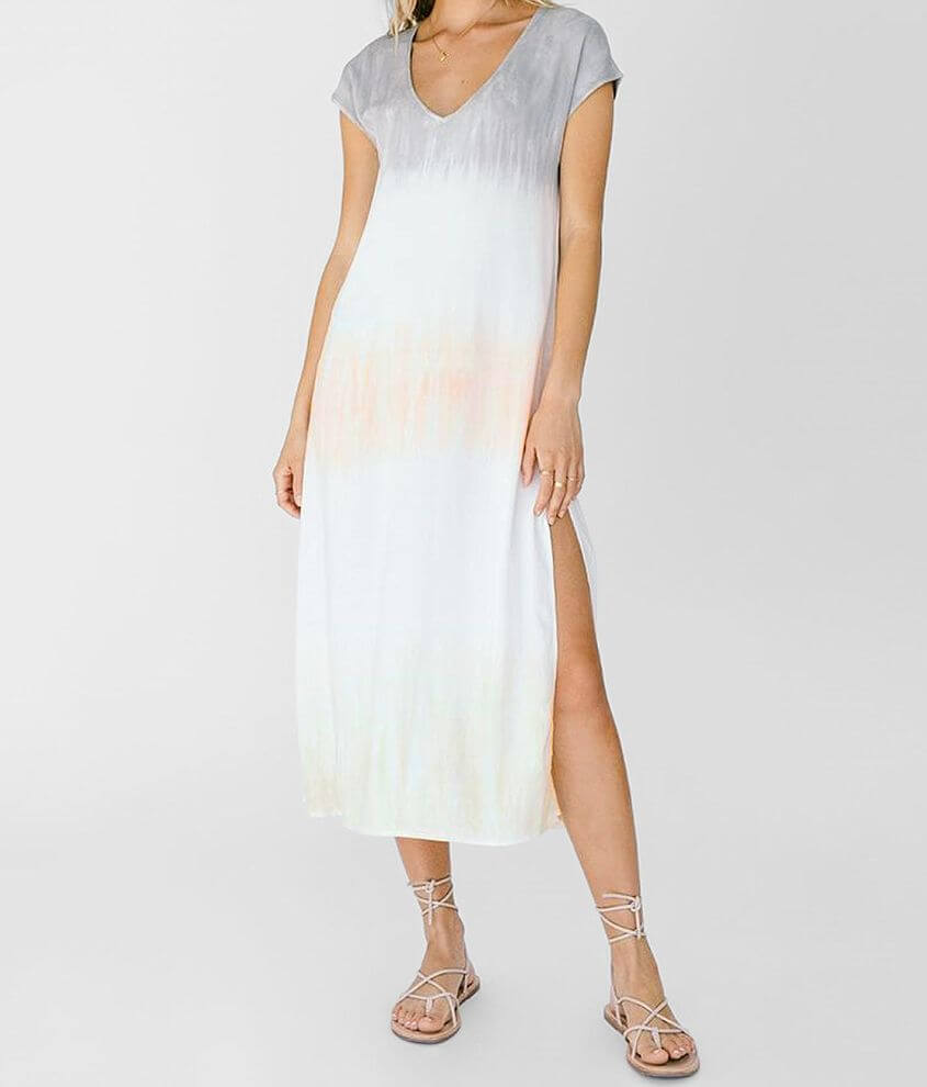 White Crow Salamina Tie Dye Dress front view
