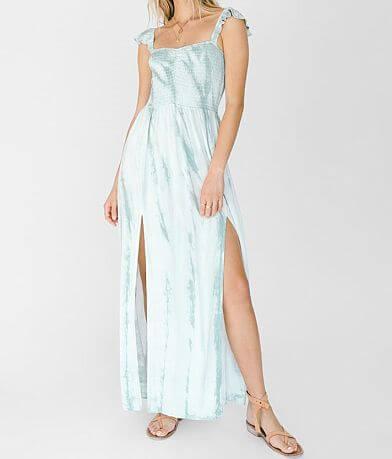 White Crow Alegre Tie Dye Maxi Dress