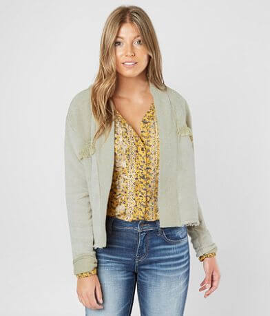 White Crow La Paz Drop Shoulder Cardigan