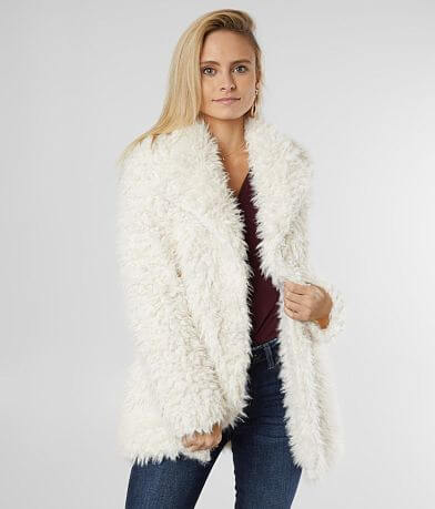 White Crow Cruz Fuzzy Sherpa Jacket