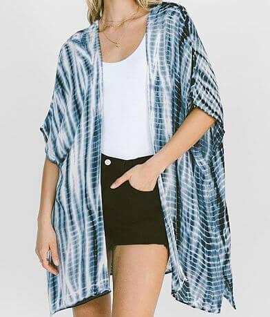 White Crow Villeta Tie Dye Kimono