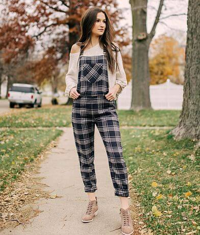 White Crow Collins Flannel Overalls