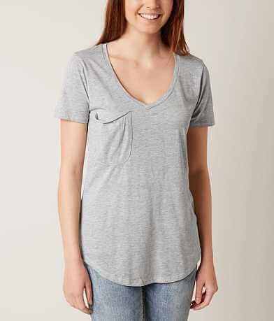 White Crow V-Neck T-Shirt