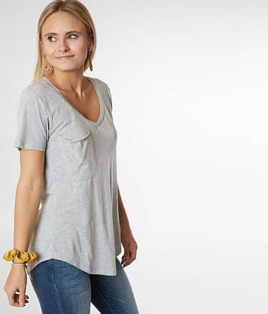 Z Supply Burnout V-Neck T-Shirt