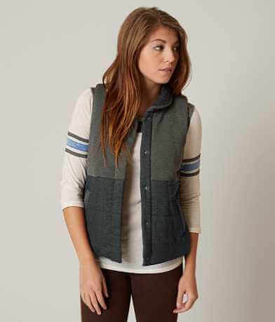 White Crow Puffer Vest