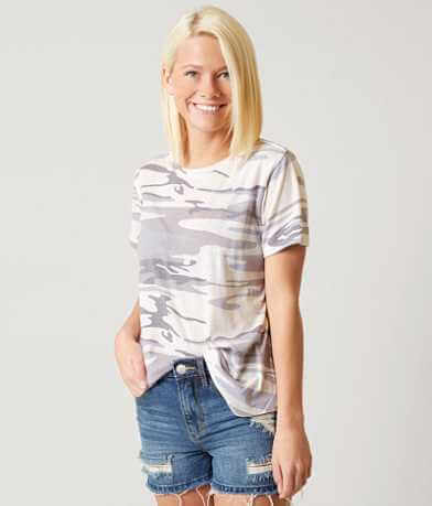White Crow Camo T-Shirt
