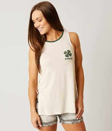 White Crow Pinch Tank Top