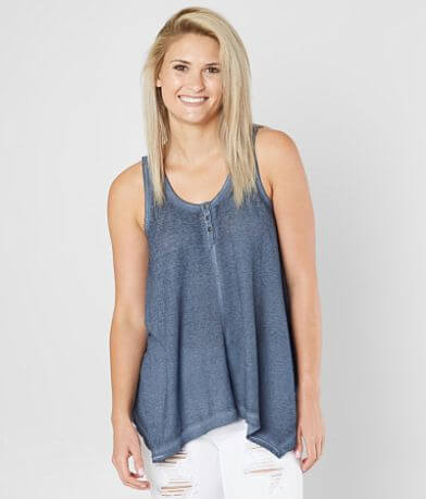 White Crow Sarita Thermal Henley Tank Top