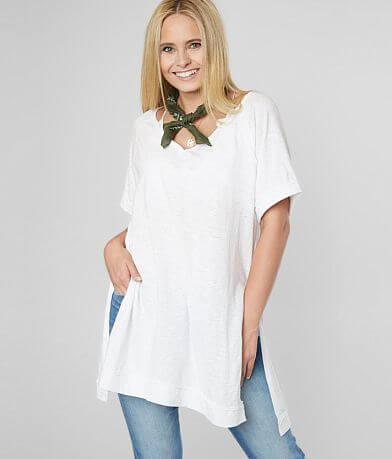 White Crow Macon Slub Knit Tunic Top