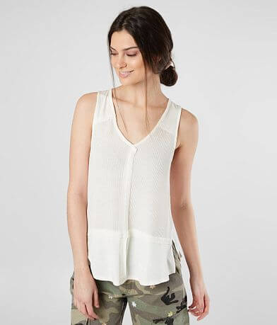 White Crow Harrison Thermal V-Neck Tank Top