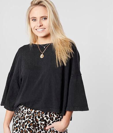 White Crow The Emilia Cropped T-Shirt