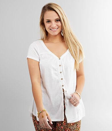 White Crow The Liliana Babydoll Top