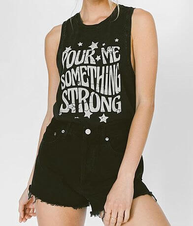 White Crow Pour Me Something Strong Tank Top